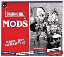 CALLING ALL MODS - VARIOUS ARTISTS (NEW SEALED 2CD)