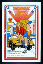 DEBBIE DOES LAS VEGAS * CineMasterpieces 1SH ORIGINAL MOVIE POSTER 1981 ADULT