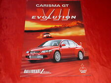 MITSUBISHI Carisma GT Evolution VII Prospekt von 2001