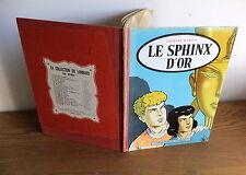 """E.O. 1956 les aventures de Alix N°2 """"Le Sphinx d'or"""" toilé lombard J.Martin"""