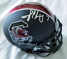 Jadeveon Clowney Signed South Carolina Gamecocks Matted Mini Helmet Jsa Certifie