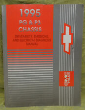 1995 GMC Truck PG P3 Chassis Driveability Emissions Electrical Diagnosis Manual