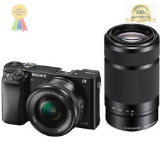 Sony Alpha a6000 Mirrorless Interchangeable-lens Camera with 16-50mm and 55-210m