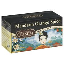 Celestial Seasonings Mandarin Orange Spice Herbal Tea, 20 Count