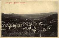 Baden-Baden AK 1912 Blick vom Friesenberg Panorama alte Ansichtskarte gelaufen