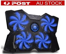 Marvo FN-30 General Double USB 4 Fans Computer Cooler Laptop Cooling Pad Blue