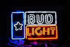 """BUD LIGHT BEER BAR BUD LITE MILLER NEON LIGHT SIGN 16"""" X 12"""" ME202"""
