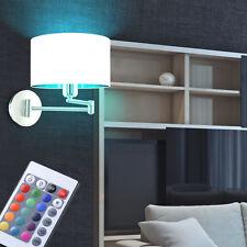LED RVB ÉCLAIRAGE MURAL intensité variable E27 lumière Pivotant Lampe Couloir