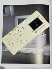 Apple Computer Vintage Microfische Card - Macintosh IIci w/full Packging