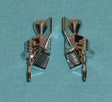 original G1 Transformers cassette BUZZSAW LASERBEAK R+L SILVER WEAPON LOT parts