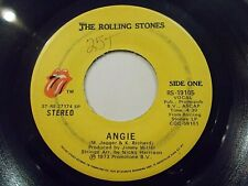 The Rolling Stones Angie / Silver Train 45 1973 Vinyl Record