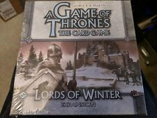 A Game of Thrones (The Card Game) - Lords of Winter expansion (New)
