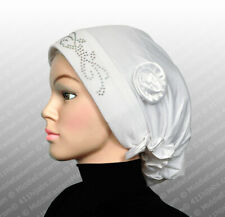 white Fashion Turban Hijab Islamic clothing and accessories for Muslim women
