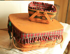 Longaberger 1993 Holiday Collection - Picnic & Bayberry Baskets - Both Signed