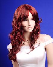 Perücke Wig Perücken für Schaufensterpuppe Mannequin Braun/Rot R02M JI DISPLAY