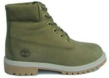 """Juniors Childrens Boys Timberland 6"""" 6 Inch Leather Boots Size UK 3.5 Primaloft"""