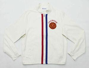 NWT CHAMPION Men's Heritage Patch Collegiate Varsity Full-Zip Jacket Small