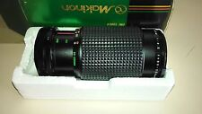 Makinon Zoom Lens 80-200mm Macro Focusing Zoom Multi-Coated One-Touch