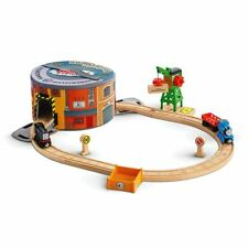 New Thomas & Friends Wooden Railway Working Hard Steamies and Diesels Gift Set