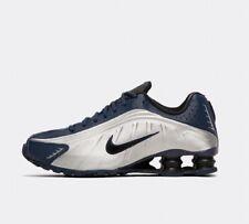 Nike Shox R4 Trainers Navy / Silver BNIB UK 7