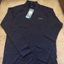 Reebok Play Dry Insulate Performance Compression Navy Blue Medium Shirt NWT