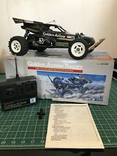 Vintage Radio Shack Golden Arrow Remote Control Car Tested And Working With Box!