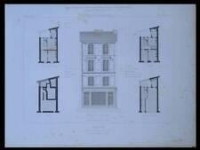 PARIS, 21 AVENUE DE BRETEUIL - 1870 - GRAVURE ARCHITECTURE - FORGEOT