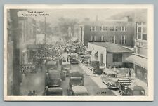 1st Avenue PRESTONBURG Kentucky KY Rare Vintage—Floyd County—Trucks Cars 1950s