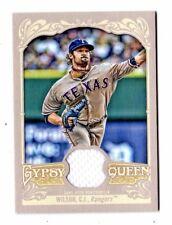 C.J. WILSON MLB 2012 TOPPS Gypsy Queen reliquie (Texas Rangers, Los Angeles Angels)