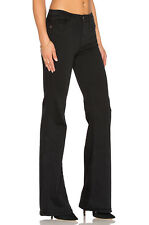$198 Current Elliott Girl Crush Jeans Flare 70's Farrah Costume Black Tar 32