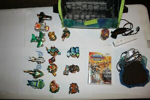 Skylanders Superchargers Wii Bundle w/ portal, 15 Figures ~ Donkey Kong/ Bowser