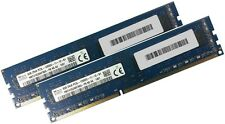 2x 8GB 16GB RAM Speicher DIMM DDR3L 1600 Mhz 240 pin PC3L-12800U Desktop 1.35V
