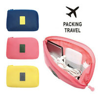 Electronic Accessories Cable USB Drive Organizer Case Portable Travel Insert SP