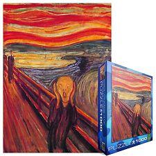 "Edvard Munch ""The Scream"" 1000 piece jigsaw puzzle 680mm x 490mm (pz)"