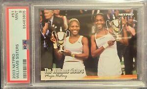 2003 Netpro Tennis #51 RC Williams Sisters Serena/Vinus Williams PSA 9 Mint