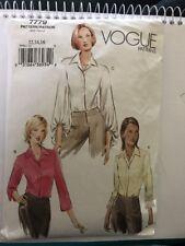Vogue Pattern 7779 Size 12 14 16 Shirt Blouse 2003