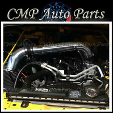 BLACK AIR INTAKE KIT fit 2005 2006 JEEP WRANGLER 4.0 4.0L RUBICON I6 ENGINE