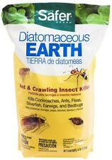 Safer Brand 4 lb. Diatomaceous Earth - Bed Bug, Flea Ant, Crawling Insect Killer
