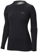Columbia Women's Midweight Omni-Heat Stretch Baselayer Top SIZE S (10)