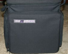 CROP IN STYLE 60001 XXL Rolling Tote Black Scrapbook Craft Tote
