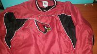 Arizona Cardinals Red & Black Jacket size Adult Medium M