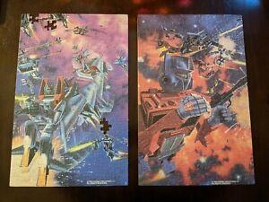 2x Transformers 1984 Vintage 200 Piece Hasbro Puzzles