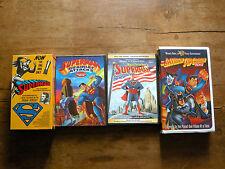 SUPERMAN 4-pack: The Serial, Brainiac Attacks, Fleischer cartoons, Batman &...