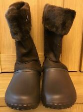 Aussie Soles BOOTS Chocolate Brown - Choose Size BNWOB