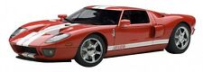 F/S AUTOart FORD GT 2005 Red/White Stripes 73021 1/18 Scale Model Car from Japan