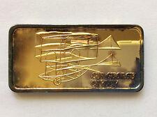 1975 Hamilton Mint Sir George Cayley Silver Art Bar HAM-635G A4968