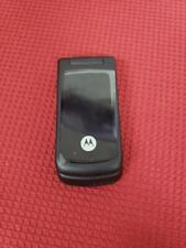 Motorola W270 Flip Cell Phone Black (New, no box, 220v Accessories included)