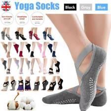 Women Ladies Non-Slip Grip Pilates Barre Yoga Socks Ballet Dance Sport Exercise