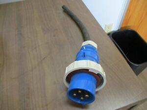 Bryant, Plug, part#:430P9W, 30A, 250V, 3Ph, used
