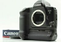 FedEx【TOP MINT TESTED】Canon Eos 3 + PB-E2 SLR 35mm Film Camera from JAPAN